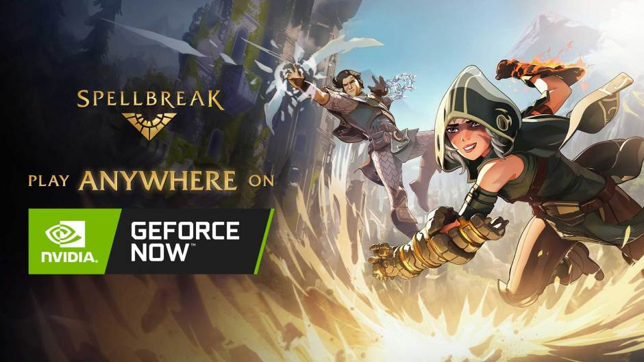 Spellbreak Android, Chromebook, Mac NVIDIA GeForce Now