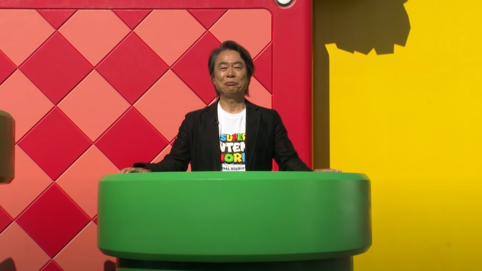 Super Nintendo World at Universal Studios Japan with Shigeru Miyamoto