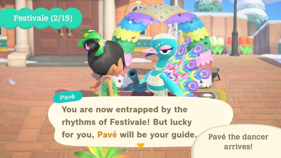 Animal Crossing: New Horizons Carnival free Festivale update