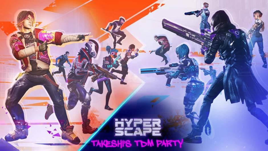 Hyper Scape Takeshi's Team Deathmatch Party