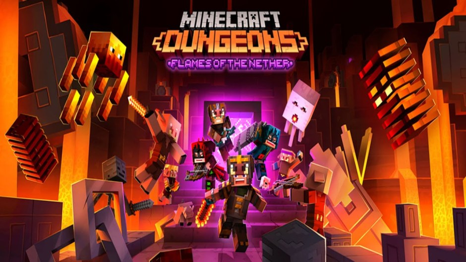 Minecraft Dungeons: Flames of the Nether DLC