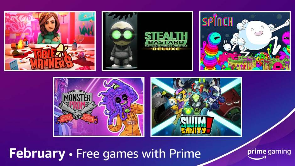 Prime Gaming in February 2021