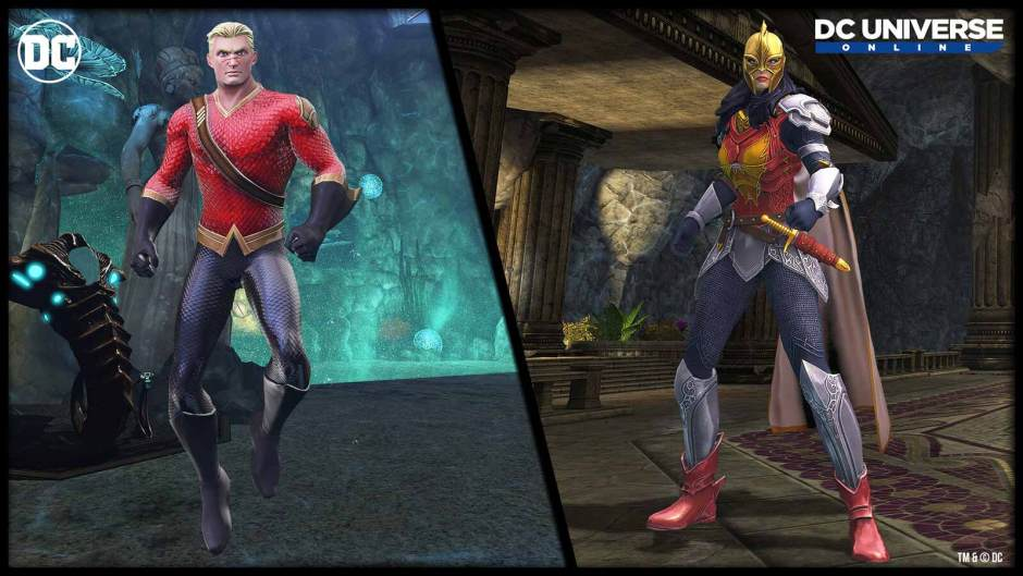 DC Universe Online World of Flashpoint expansion