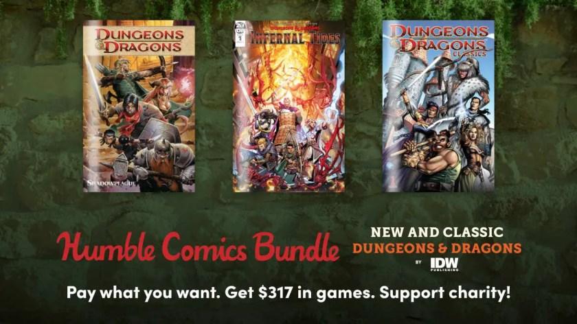 Humble Comics Bundle: New and Classic D&D