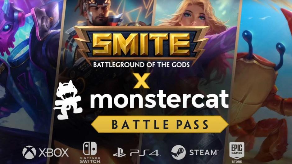 Smite Monstercat Battle Pass