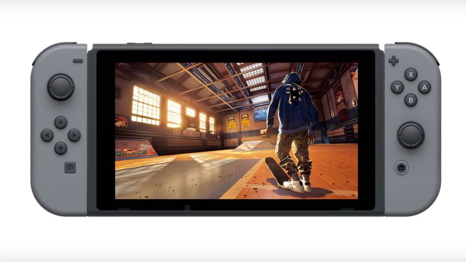 Tony Hawk's Pro Skater 1 and 2 lands on Nintendo Switch