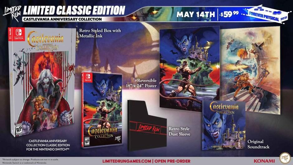 Castlevania Anniversary Collection: Classic Edition