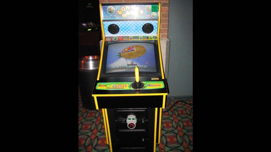 Monkey Ball arcade cabinet