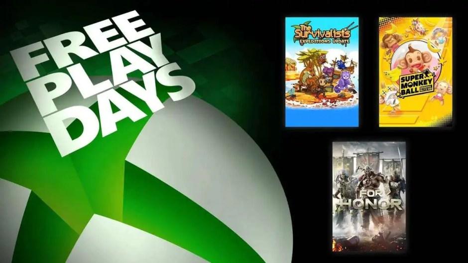 Xbox Free Play Days: Super Monkey Ball Banana Blitz HD, For Honor, The Survivalists