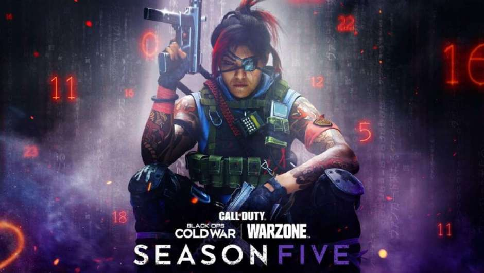 Call of Duty Black Ops: Cold War and Warzone Season 5
