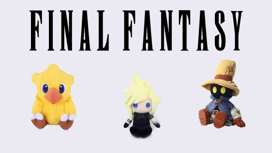 Final Fantasy plushies are now available for pre-order at Playasia