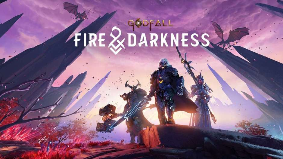 Godfall PlayStation 4 Fire & Darkness
