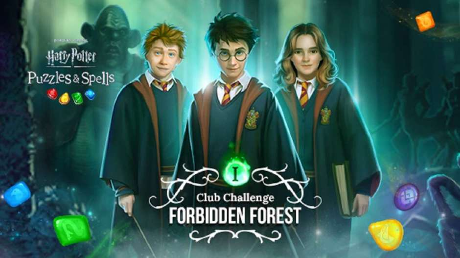 Harry Potter: Puzzle and Spells Club Challenge Forbidden Forest