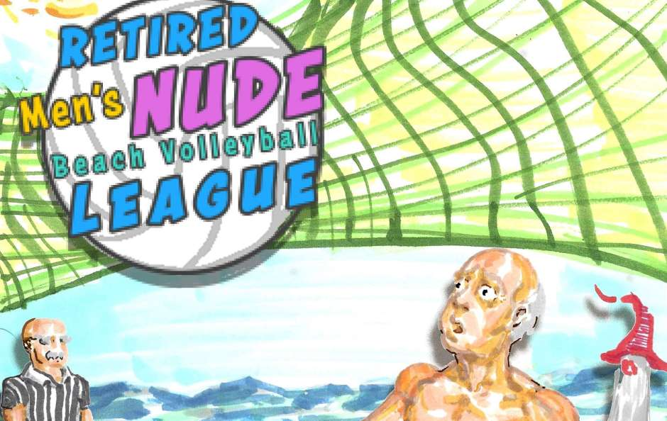 Retired Men's Nude Beach Volleyball League