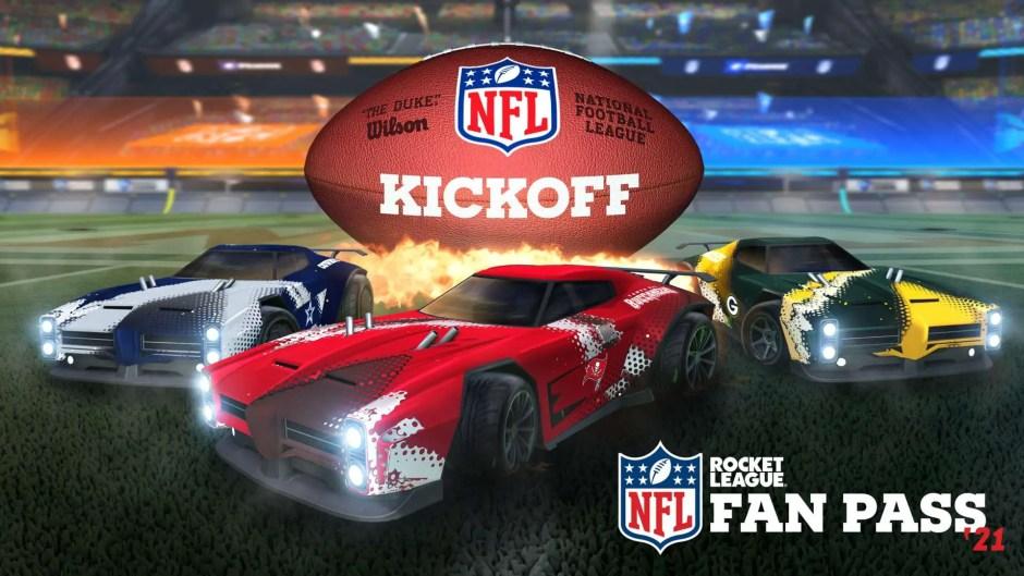 Rocket League 2021 NFL Fan Pass
