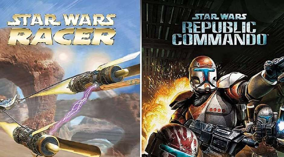 Star Wars Racer and Commando Combo