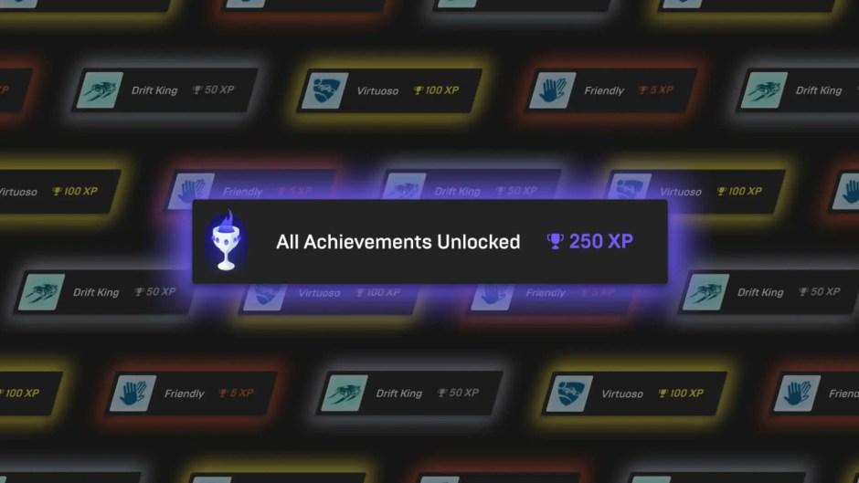 Epic Games Store achievements system
