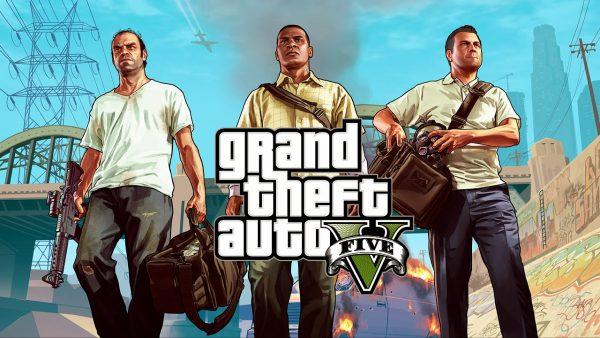 GTA 5 Full Crack - cướp đường phố
