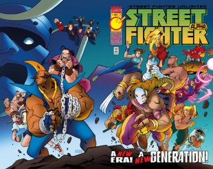 Street Fighter Unlimited #2 Cover C