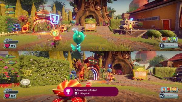 PvZGW2 split screen