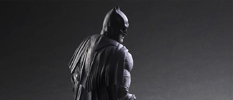 Batman Black and white figure