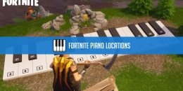 Fortnite Playable Piano Locations - Sheet Music Locations