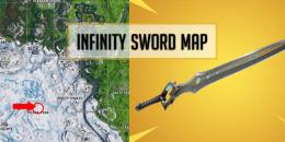 Fortnite Infinity Blade Sword Location [Map]