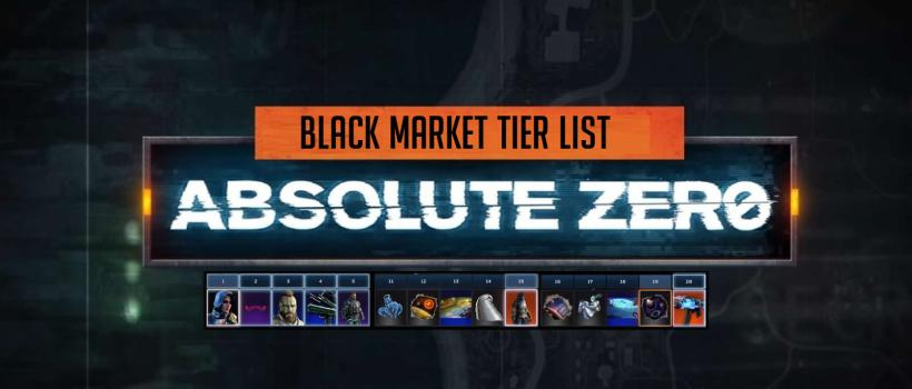 Every Tier In Operation Absolute Zero Black Market In Black Ops 4