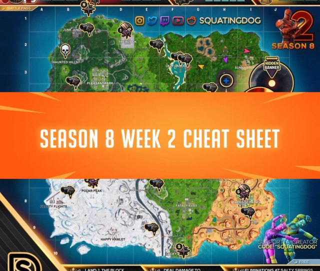 How To Complete Season  Challenges Fortnite Season