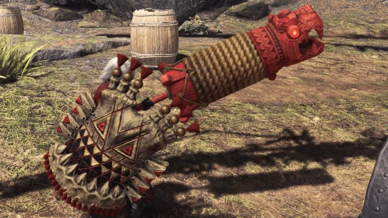 Gajalaka gunlance weapon monster hunter world