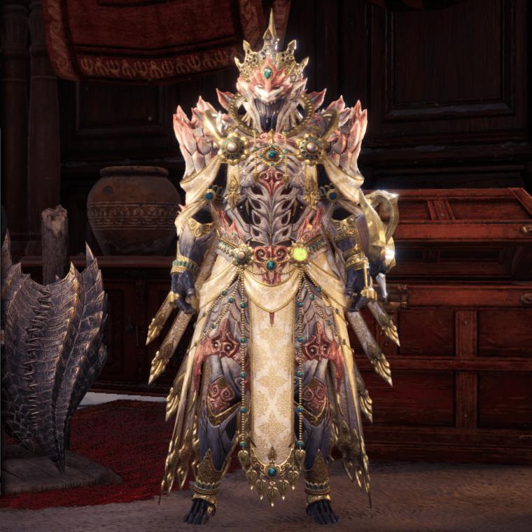 shara ishvalda monster hunter world armor set