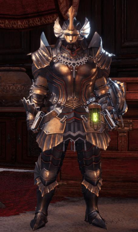 kushala daora monster hunter world armor set