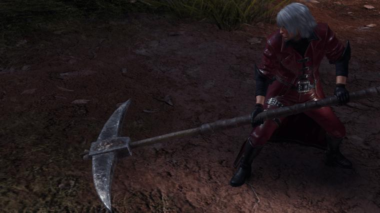 Pickaxe longsword monster hunter world
