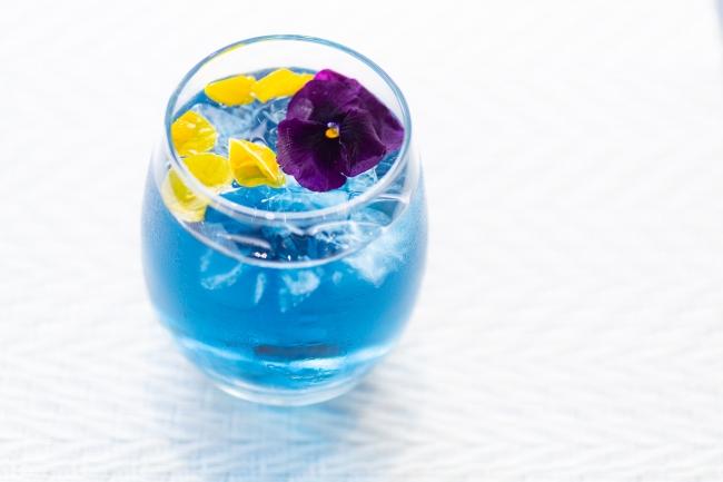 ユージオの青に染まるティータイム