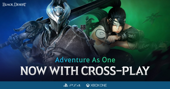『Pearl Abyss』PS4版とXbox One版『黒い砂漠』クロスプレイ実装!