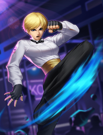 『THE KING OF FIGHTERS '98 ULTIMATE MATCH Online』美しき蹴撃のイリュージョン「キングXIII Ver」の参戦が決定