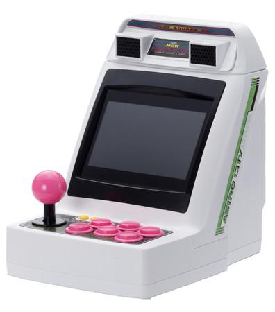 セガアーケードの歴史を刻む『アストロシティミニ』——操作ボタンが2P カラーのピンクになった『アストロシティミニ セガトイズ.com ピンクボタン限定バージョン』数量限定で発売決定!——
