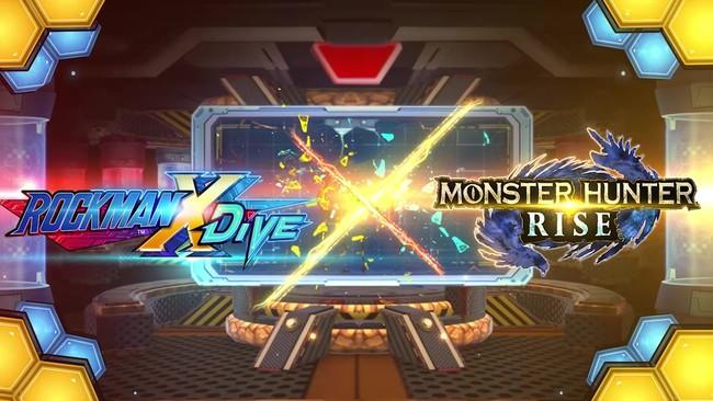 『ロックマンX DiVE』 モンスターハンターライズコラボPVが公開!