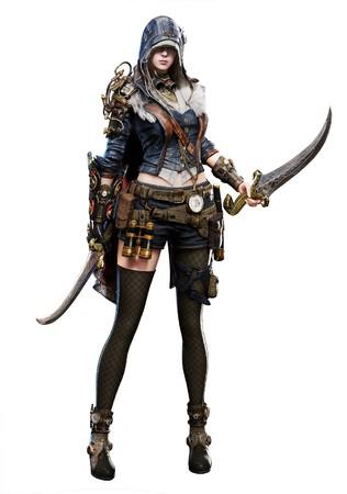 新作MMORPG『ELYON(エリオン)』全6種の個性が光る「クラス」紹介ラストを飾るのはこの2つ!双剣使い「アサシン」、回復・精霊使い「ミスティック」