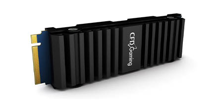 CFD販売のゲーミングブランド「CFD Gaming」から、次世代ゲーム機で使用可能なM.2 SSD用ヒートシンク発売
