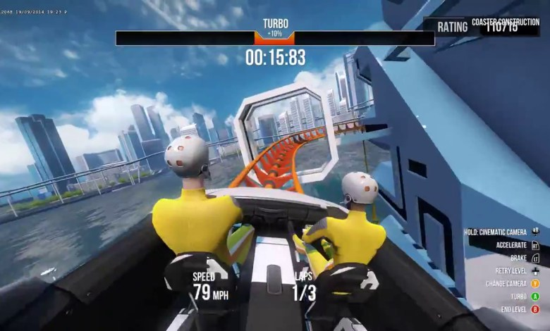ScreamRide - Xbox One - Xbox 360 - Gameplay Screen 02