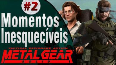 Momentos Inesquecíveis - Metal Gear Solid - Imagem Jiraya Plays