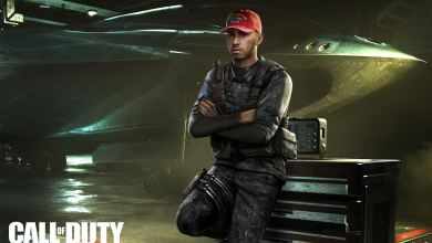 Lewis Hamilton em Call of Duty Infinite Warfare