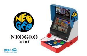 SNK anuncia oficialmente NeoGeo Mini