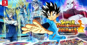 """""""Super Dragon Ball Heroes: World Mission"""" será lançado para o Nintendo Switch e PC"""