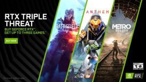 """Nvidia expande lista de games ofertados por meio da promoção """"RTX Game Bundle"""""""