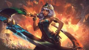 "Riot lança splash art de Qiyana, a nova campeã de ""League of Legends"""