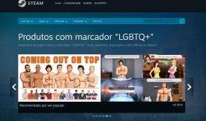 Steam cria tag para jogos LGBTQ+ na plataforma digital