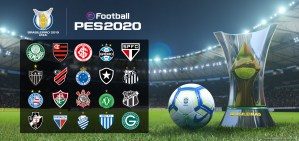 KONAMI anuncia parceria com Vasco da Gama e exclusividade no jogo do Atlético Mineiro