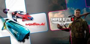 WipEout Omega Collection e Sniper Elite 4 são os destaques da PS Plus de agosto